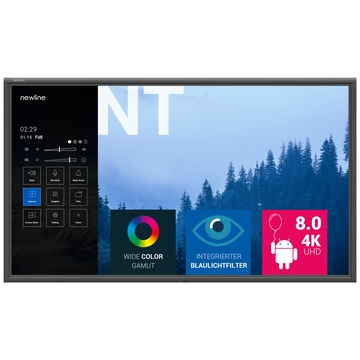 "Newline NT 65"" 65"" LED 4K Ultra HD Nero"