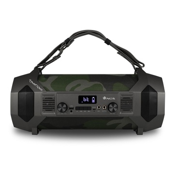 NGS Street Force 150 W portatile stereo Wireless Nero, Mimetico