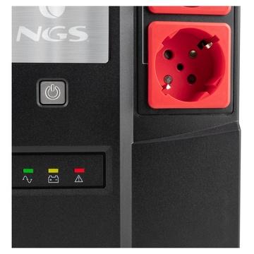 NGS UPSCHRONUS-0052 gruppo di continuità (UPS) Standby (Offline) 600 VA 350 W 6 presa(e) AC