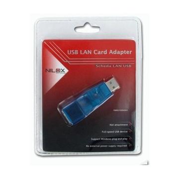 Nilox 10NXU10000001 scheda di rete e adattatore Ethernet 100 Mbit/s