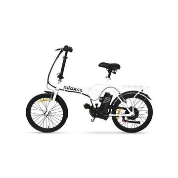 "Nilox DOC E-bike X1 250 W Ruote 20"" Acciaio Bianco"