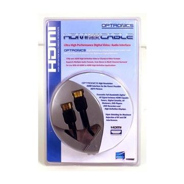 Nilox HDHD2-180 cavo HDMI 2 m HDMI tipo A (Standard) Nero