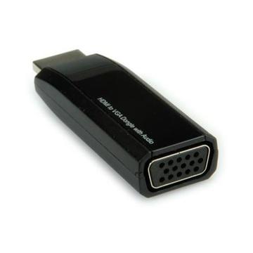 Nilox HDMI - VGA/3.5mm M/F VGA + 3.5mm Nero