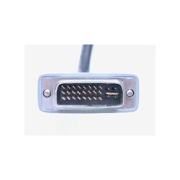 Nilox ITB MGAK510002 cavo DVI 0,2 m DVI-I 2 x DVI Nero