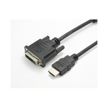 Nilox NX080200101 cavo di interfaccia e adattatore HDMI DVI-D Nero