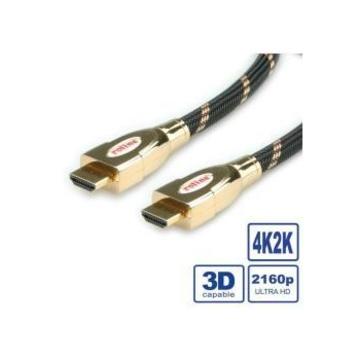Nilox NX090201123 cavo HDMI 1 m HDMI tipo A (Standard) Nero, Oro