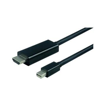 Nilox NX090209105 cavo e adattatore video 1 m Mini DisplayPort HDMI Nero