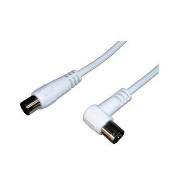 Nilox NX090701101 cavo coassiale 2 m IEC 169-2 Bianco