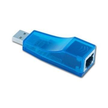 Nilox NXCON03 cavo di interfaccia e adattatore USB A RJ45 Blu