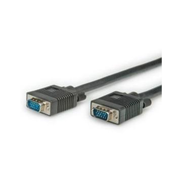 Nilox ROLINE 20m VGA cavo VGA VGA (D-Sub) Nero