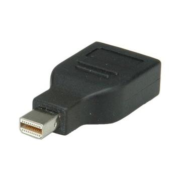 Nilox ROLINE DisplayPort Adapter, DP F - Mini DP M Nero