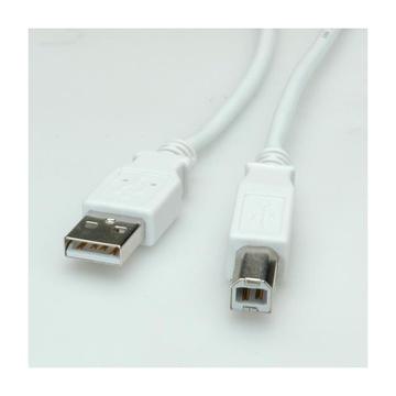 Nilox Value 11.99.8819 1,8 m USB A USB B M/M Grigio