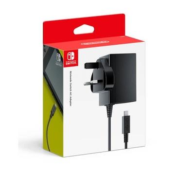 Nintendo 2510666 Caricabatterie Interno per Switch Nero