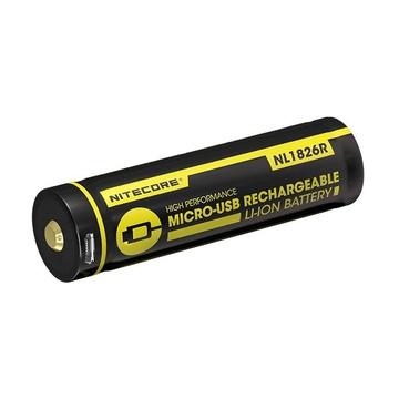 Nitecore NL1826R Batteria ricaricabile 18650 Ioni di Litio