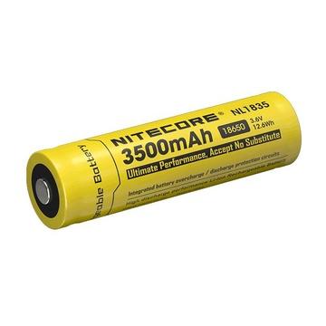 Nitecore NL1835 Batteria ricaricabile 18650 Ioni di Litio