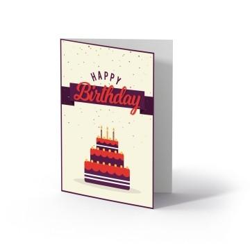 Ollo Buono regalo per Compleanno Multicolore Motivo torta
