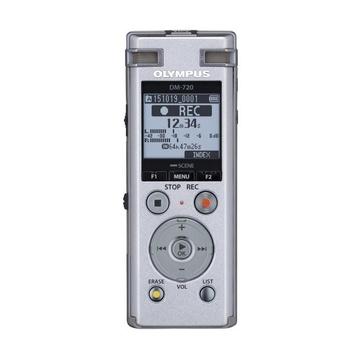 Olympus DM-720 + 2 x ME-33 4GBDM-720 Mic. omnidirezionali Argento