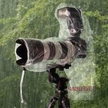 OP Tech antipioggia fotocamera con flash