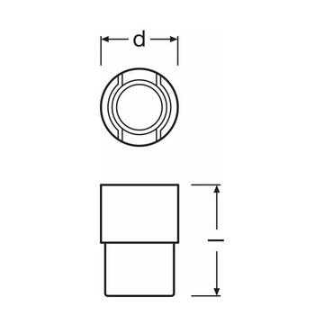 Osram Halogen Studiolampe R7s 1000W 230V 3200K 2600lm