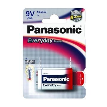 Panasonic Everyday Power Single-use battery 9V Alcalino