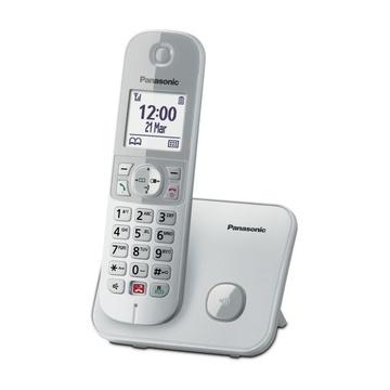 Panasonic KX-TG6851JTS Identificatore di chiamata Argento