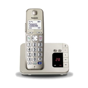 Panasonic KX-TGE220JTN Telefono DECT Champagne