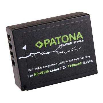Patona NP-W126 Premium 7.2 V 1140 mAh per FinePix