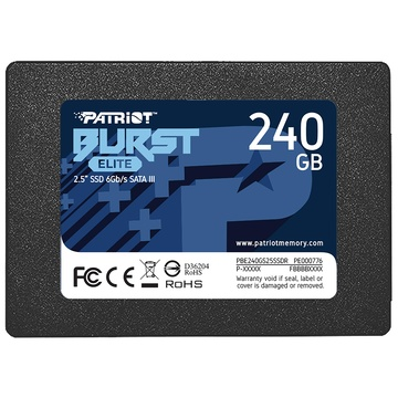 "Patriot Memory Burst Elite 2.5"" 240 GB SATA III"