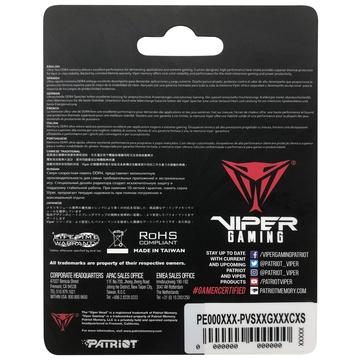 Patriot Memory Viper Steel PVS416G240C5S 16 GB DDR4 2400 MHz