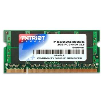 Patriot 2GB DDR2 800Mhz SODIMM