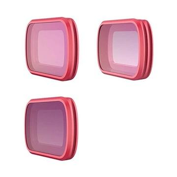 PGYTECH Filtri Combo 3-Pack PRO per DJI Osmo Pocket