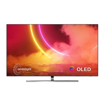 "Philips 65OLED855/12 TV 65"" 4K Ultra HD Smart TV Wi-Fi Nero, Argento"