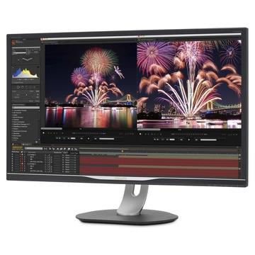 Philips Brilliance LCD con dock USB-C 328P6VUBREB/00 31.5
