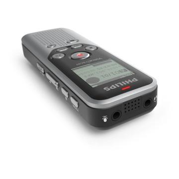 Philips DVT1250 dittafono Nero, Grigio