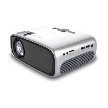 Philips NeoPix Easy+ Proiettore portatile 800 x 480 Nero, Grigio