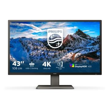 "Philips P Line 439P1/00 LED 42.5"" 4K Ultra HD Nero"