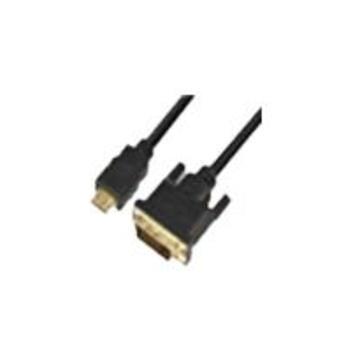 Praim 80EC00057 cavo di interfaccia e adattatore HDMI DVI-D Nero