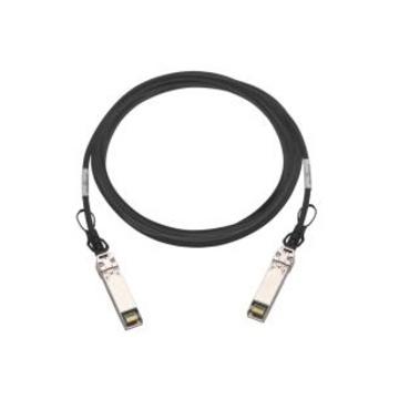 QNAP CAB-DAC30M-SFPP cavo a fibre ottiche 3 m SFP+ Nero