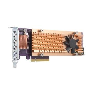 QNAP QM2-4P-384 scheda di interfaccia e adattatore PCIe Interno
