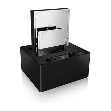 RaidSonic ICY BOX IB-121CL-C31 USB 3.1 (3.1 Gen 2) Type-C Nero