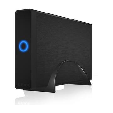 """RaidSonic ICY BOX IB-377-C31 Enclosure HDD/SSD 3.5"""" Nero"""
