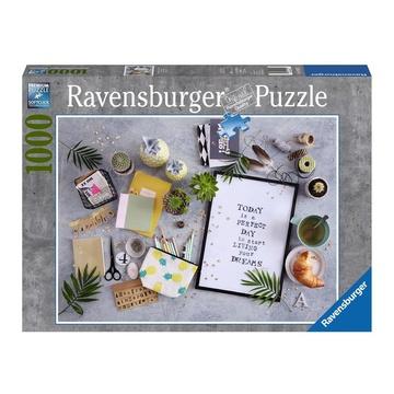 Ravensburger Start living your dream Puzzle 1000 pezzo(i)