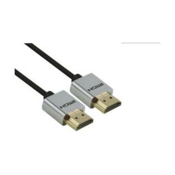 RedMilano Redline RDL1582 cavo HDMI 1 m HDMI tipo A (Standard) Nero, Argento