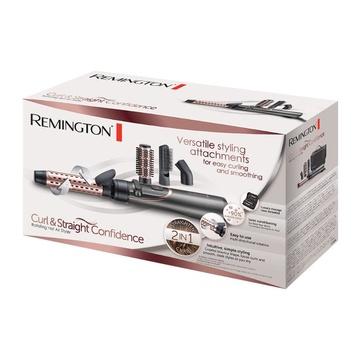 Remington AS8606 Spazzola ad aria calda Caldo Nero, Rose Gold 800 W