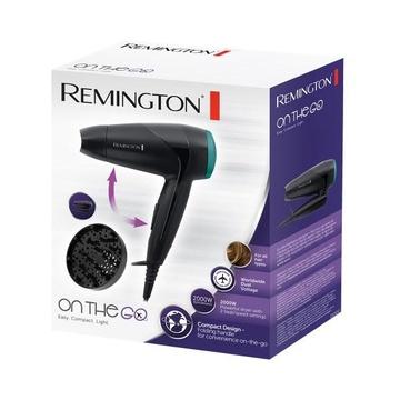 Remington D1500 2000W Nero, Verde