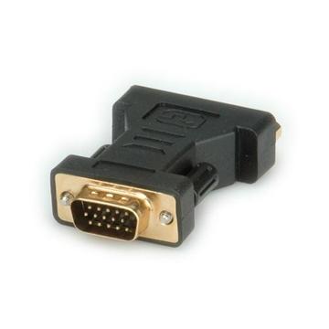 ROLINE DVI / VGA Adapter, DVI (F) / HD15 (M)