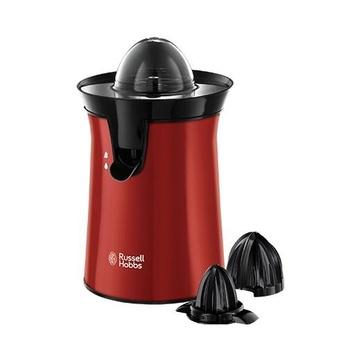 Russel Hobbs Colour Plus+ Spremiagrumi Elettrico 60 W Nero, Rosso