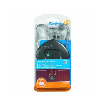 Safety First 3220660186938 lucchetto per la sicurezza del bambino Serratura flessibile per maniglia per bambini Grigio 1 pz