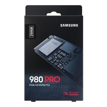 Samsung 980 PRO M.2 250 GB PCI Express 4.0 V-NAND MLC NVMe