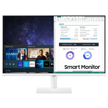 "Samsung LS27AM501NUXEN 27"" Full HD LCD Bianco"